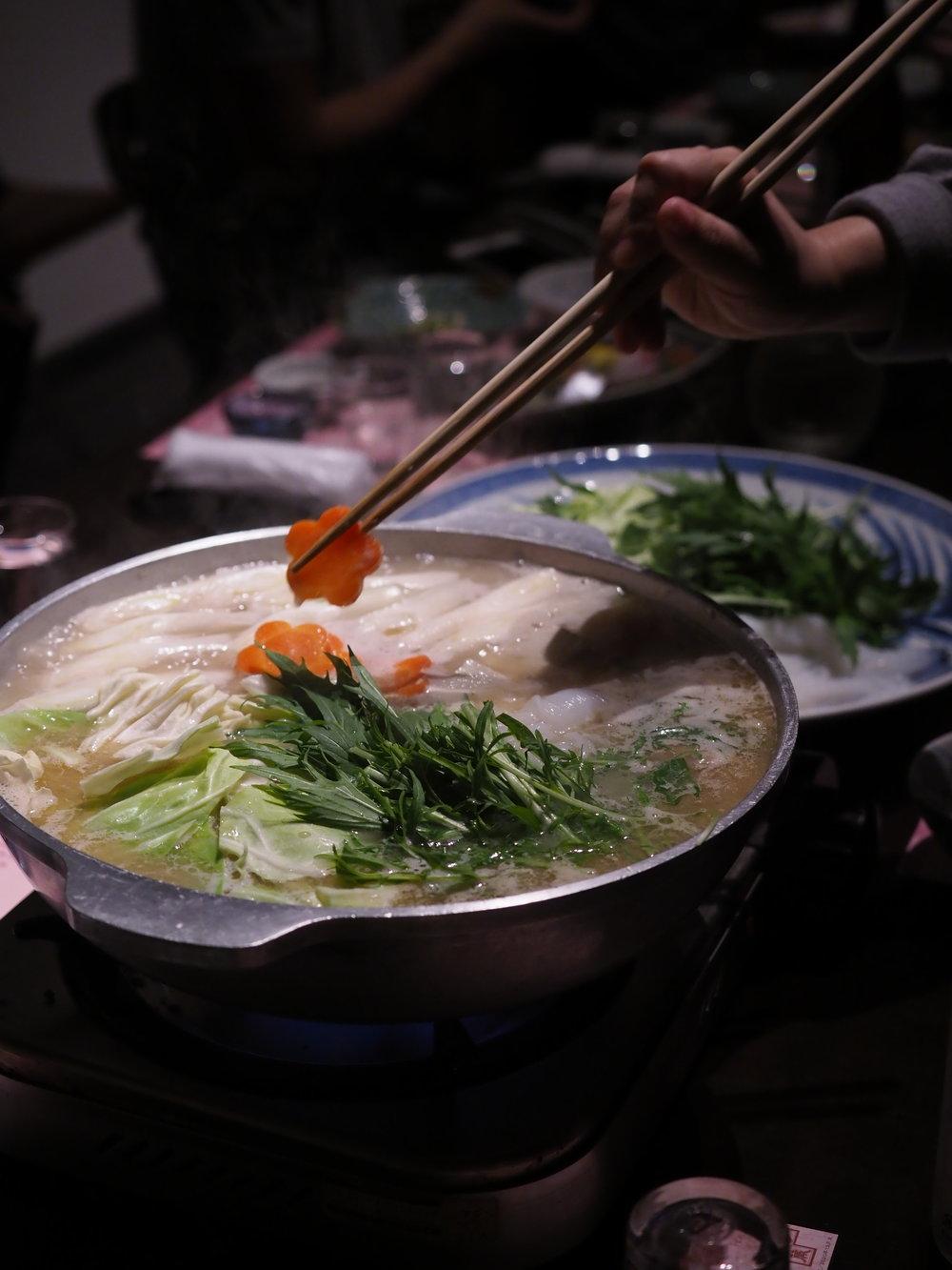 Mizutaki Chicken Hot Pot