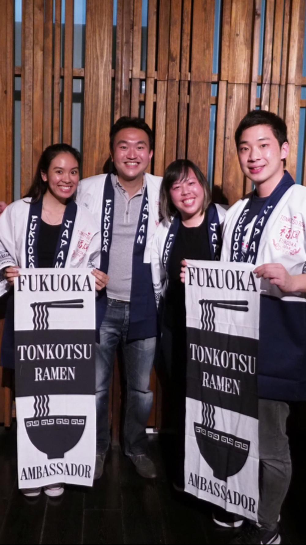 Fukuoka Tonkotsu Ambassador ;-)