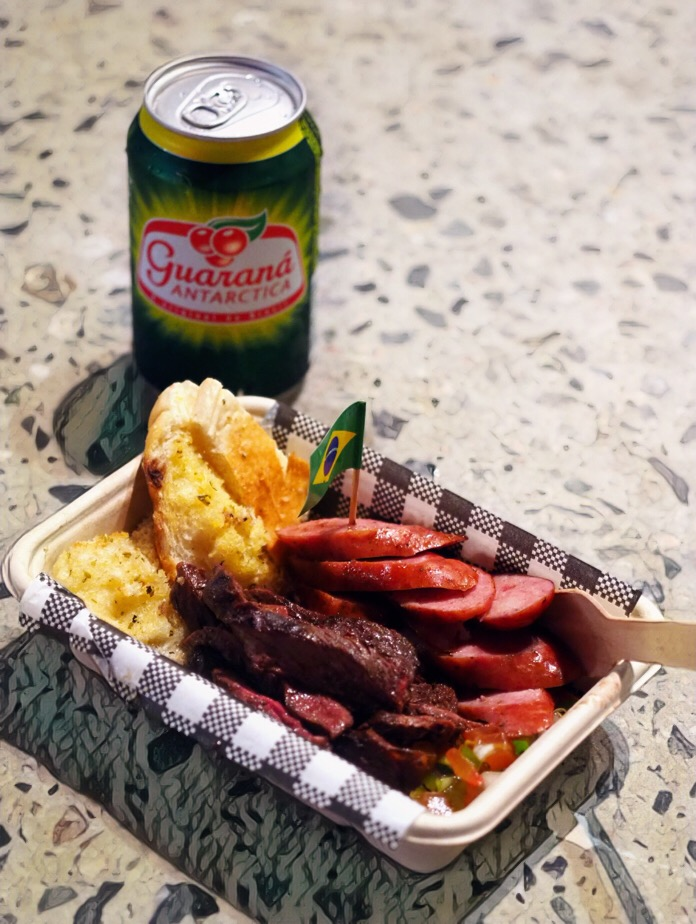 Churrasco from Cariocas Brazilian BBQ Twilight Hawkers Market