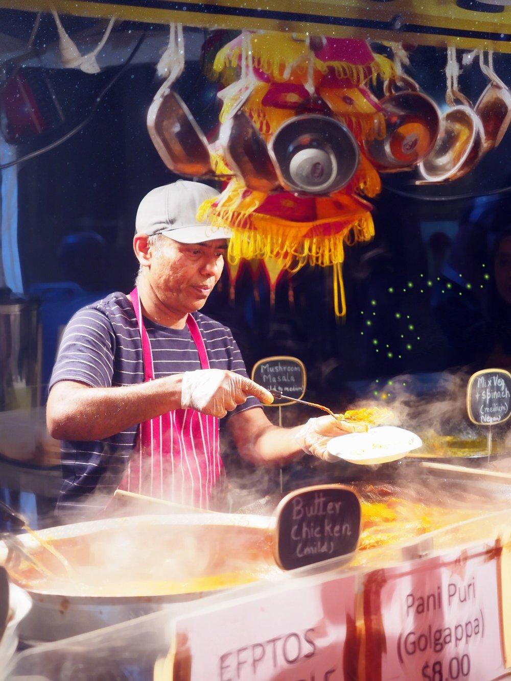 Indian Food Twilight Hawkers Market