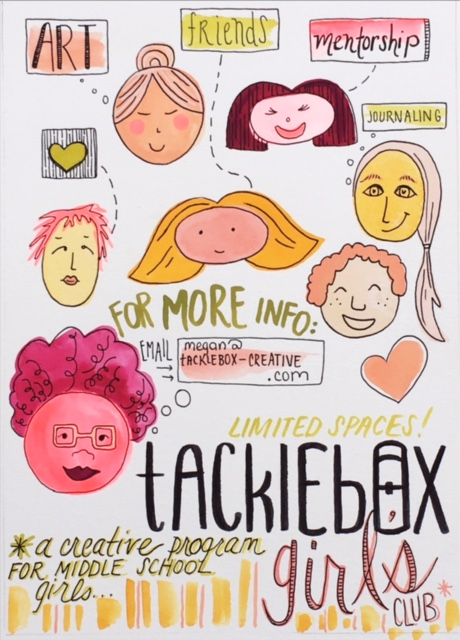 Sign up for our Spring+Summer season of Tacklebox Girls Club — TACKLEBOX