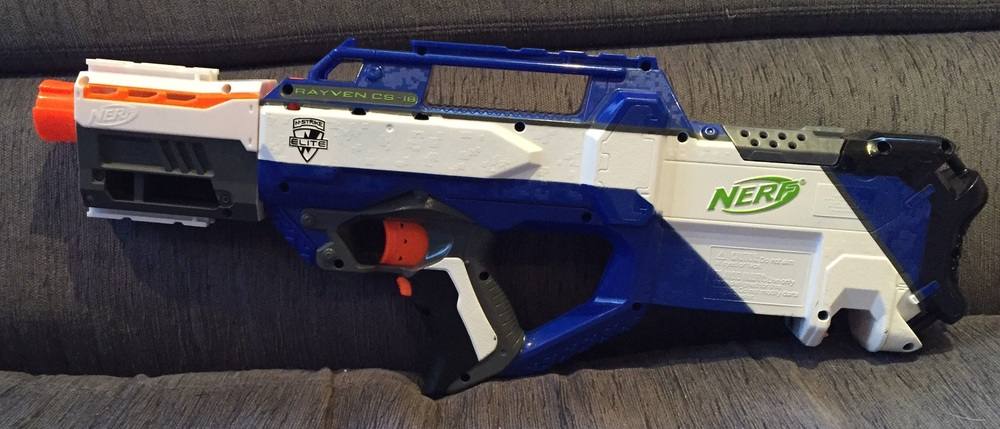 Rayven with Dual-Rail Barrel