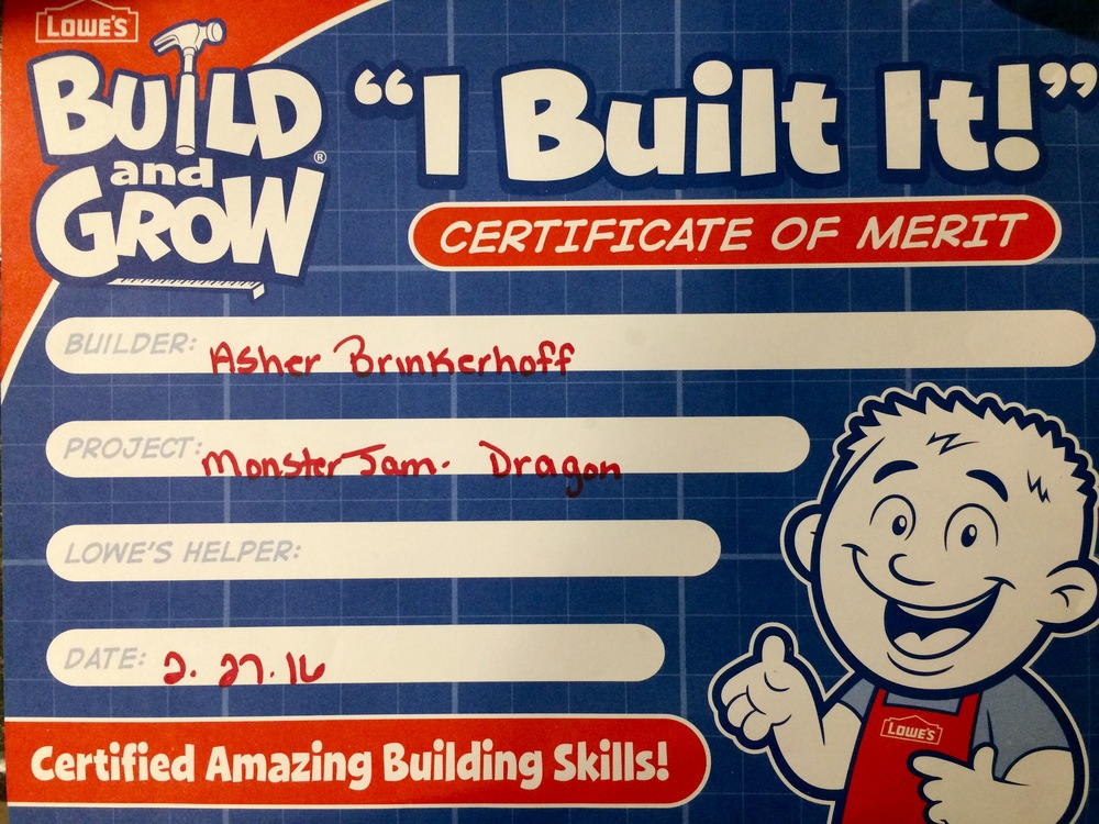 "They put the wrong name for ""Builder."""