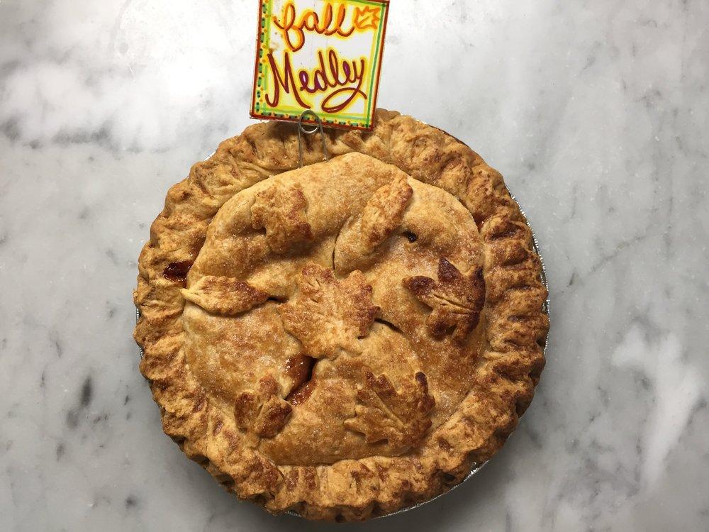 Fall Medley Pie