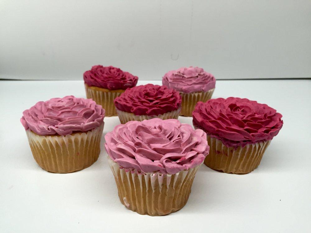 Full Cupcake Roses