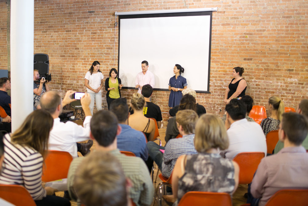 90-seconds pitch to tell the story of the user and the proposed solution