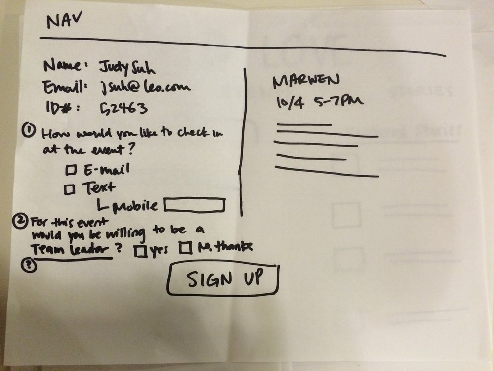 Sign-Up Page