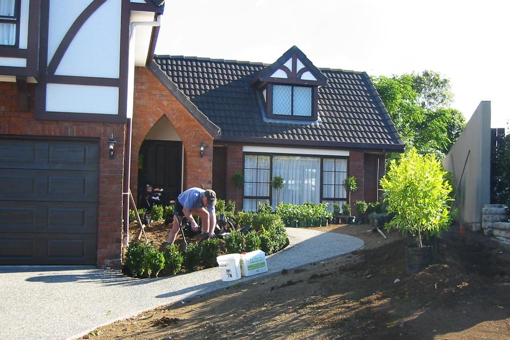 Rod planting