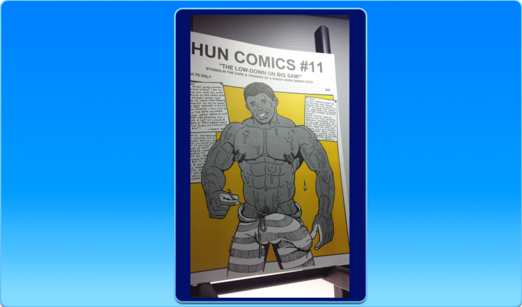 The hun gay comic manga color
