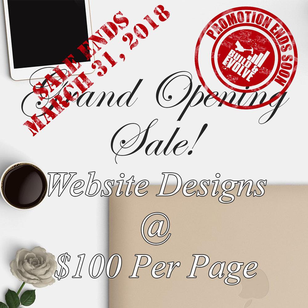 $100 Per Page Promo