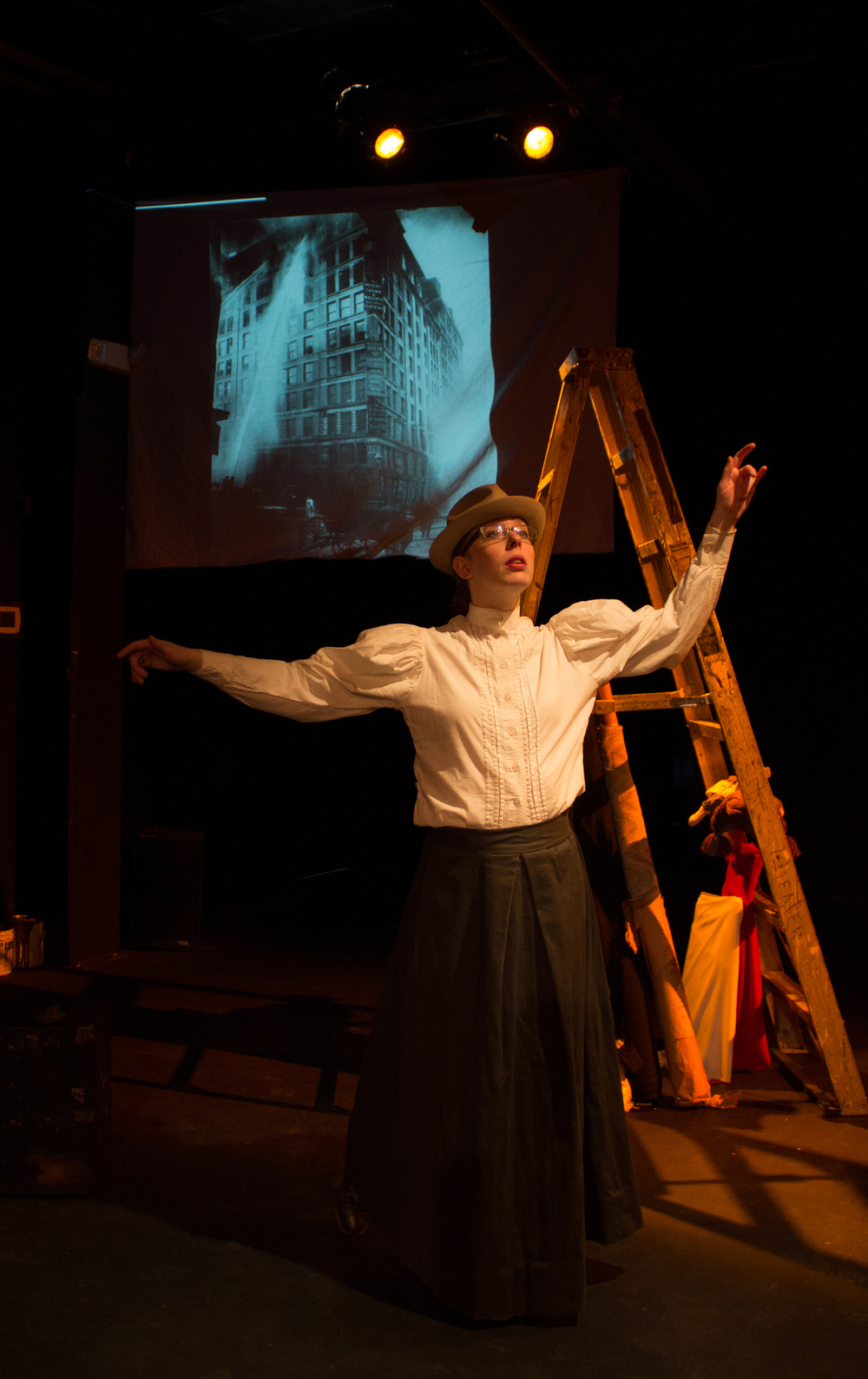 Isa St Clair in Up From the Ashes