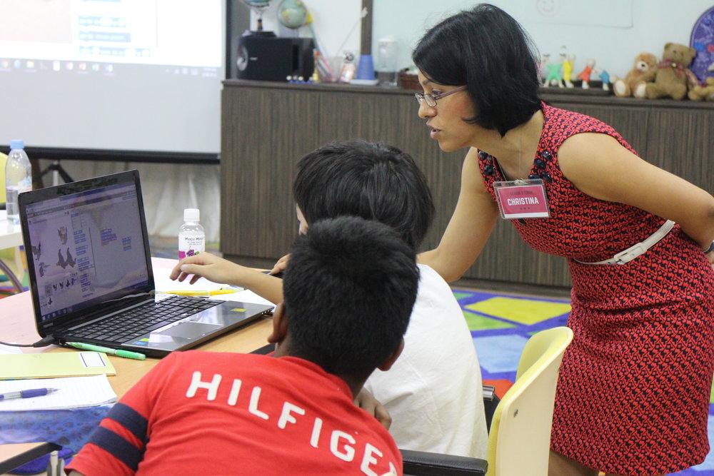 Helping Student.JPG