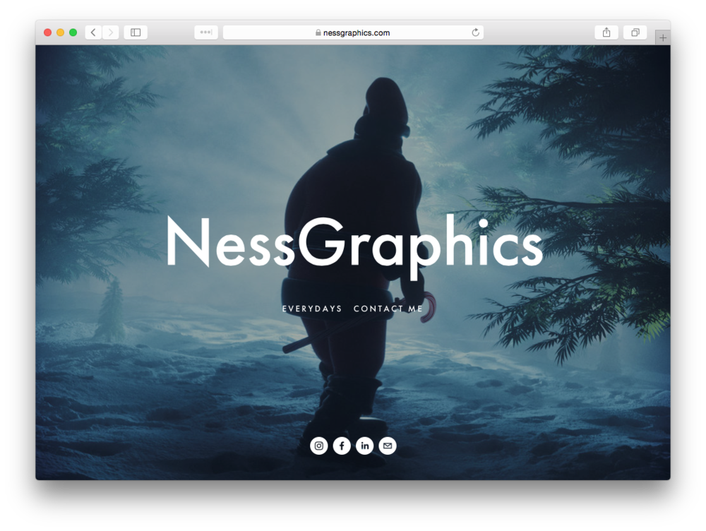 Alex Ness Portfolio Website