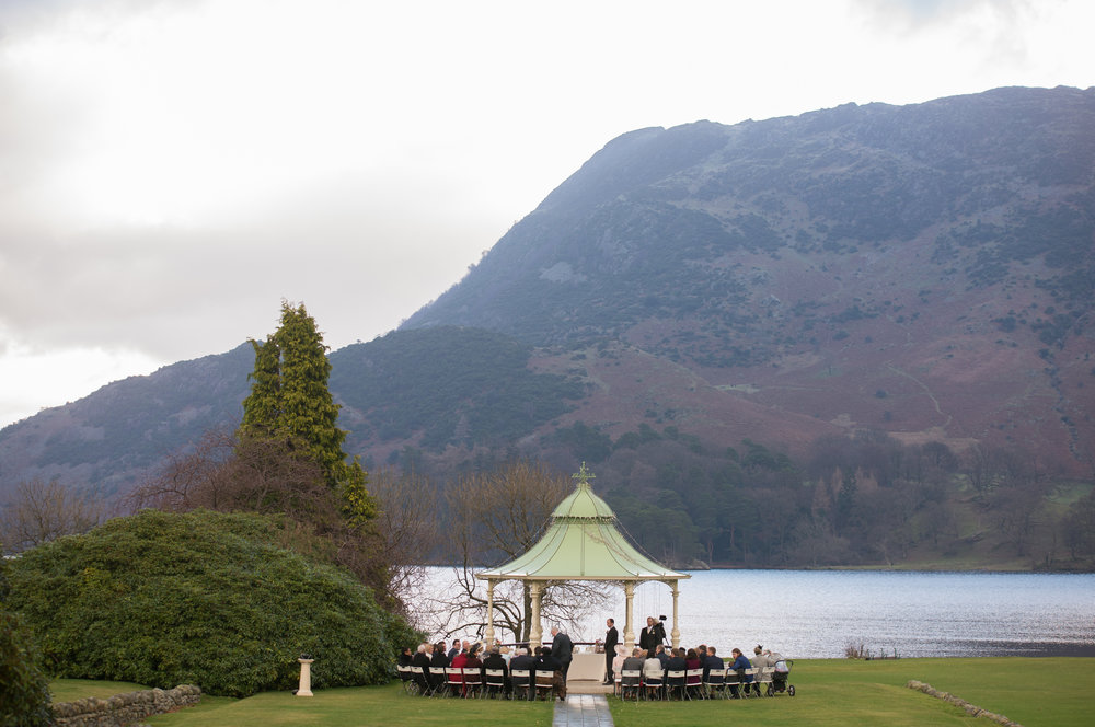 Gazebo at Inn on The Lake Glenridding