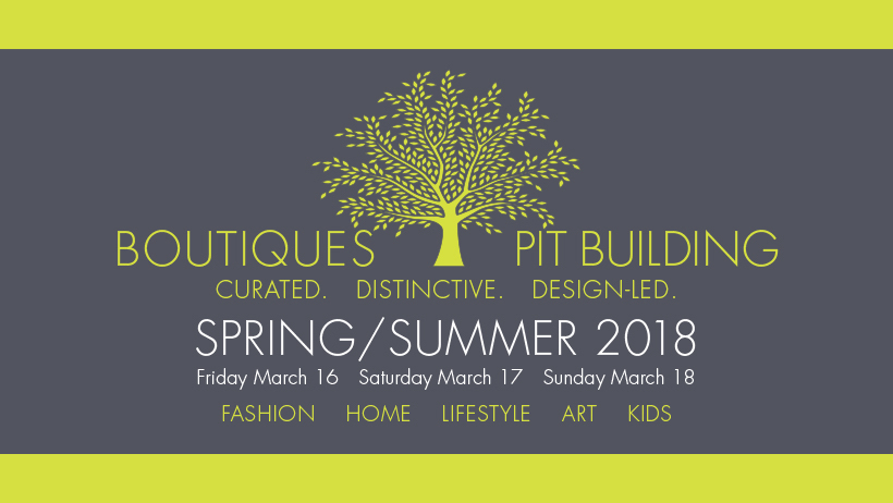 BOUTIQUES FAIR - SPRING/SUMMER 2018 EDITION - F1 PIT BUILDING