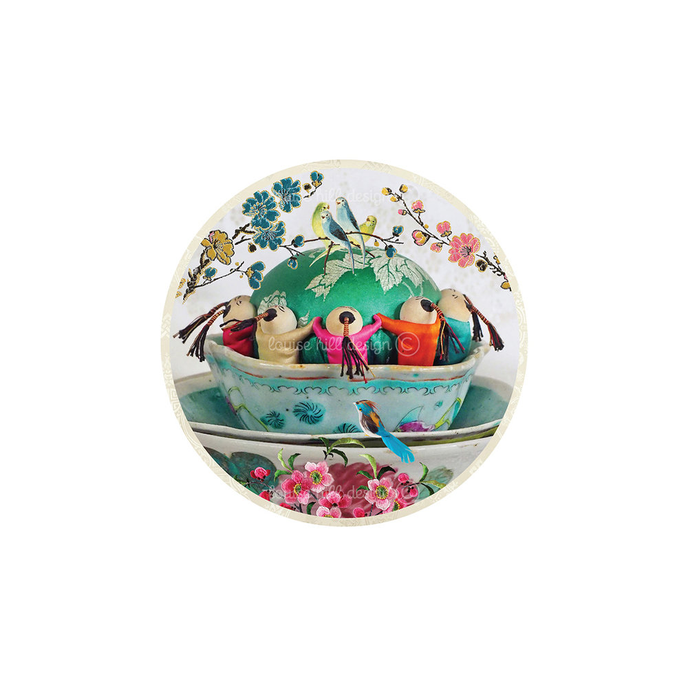 LITTLE FLORAL PIN CUSHION