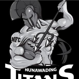 NUNAWADING TITANS MASCOT