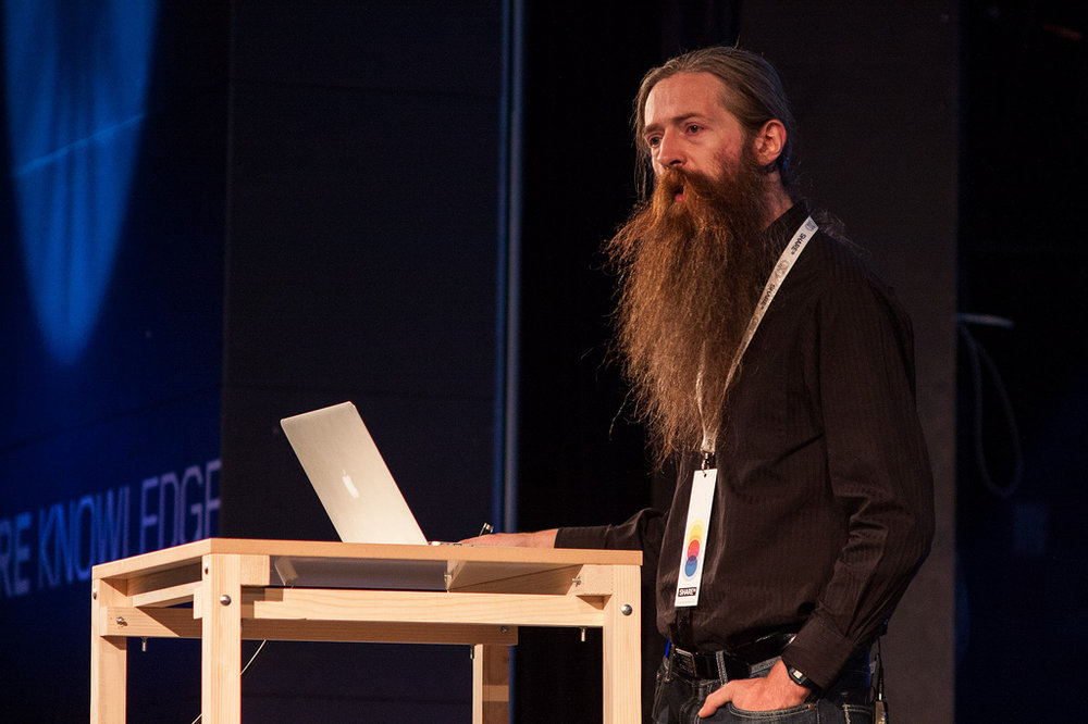 Aubrey de Grey the ageing wizard! Photo credit: Flickr