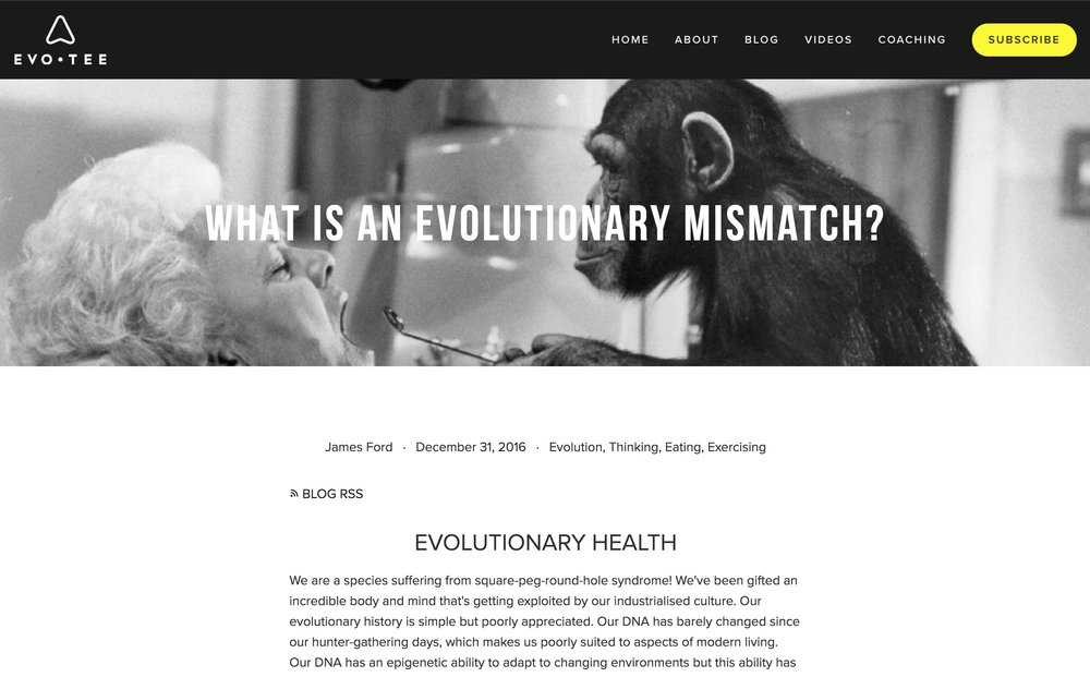 http://www.evotee.co.uk/blog//evolutionary-mismatches