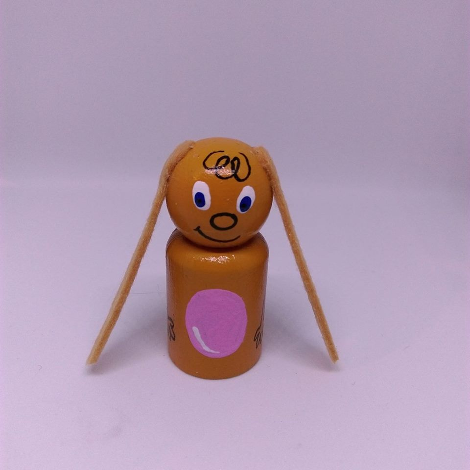 Eardrop rāpeti peg doll FREE with triple pack orders while stocks last. Hand crafted by  Sarah McAlpine !