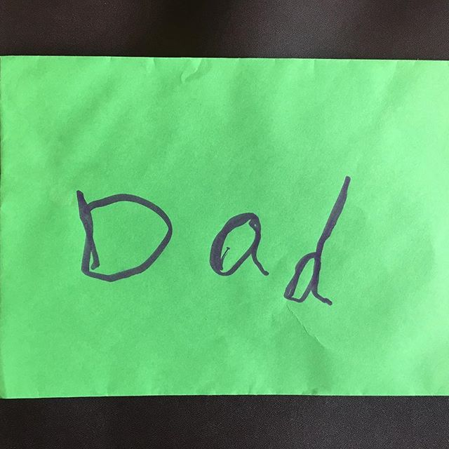 My son's birthday card envelope to me. So simple, but enchanting. #parenting #slowlived #slow