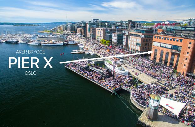 Du finner oss på PierX på Aker brygge