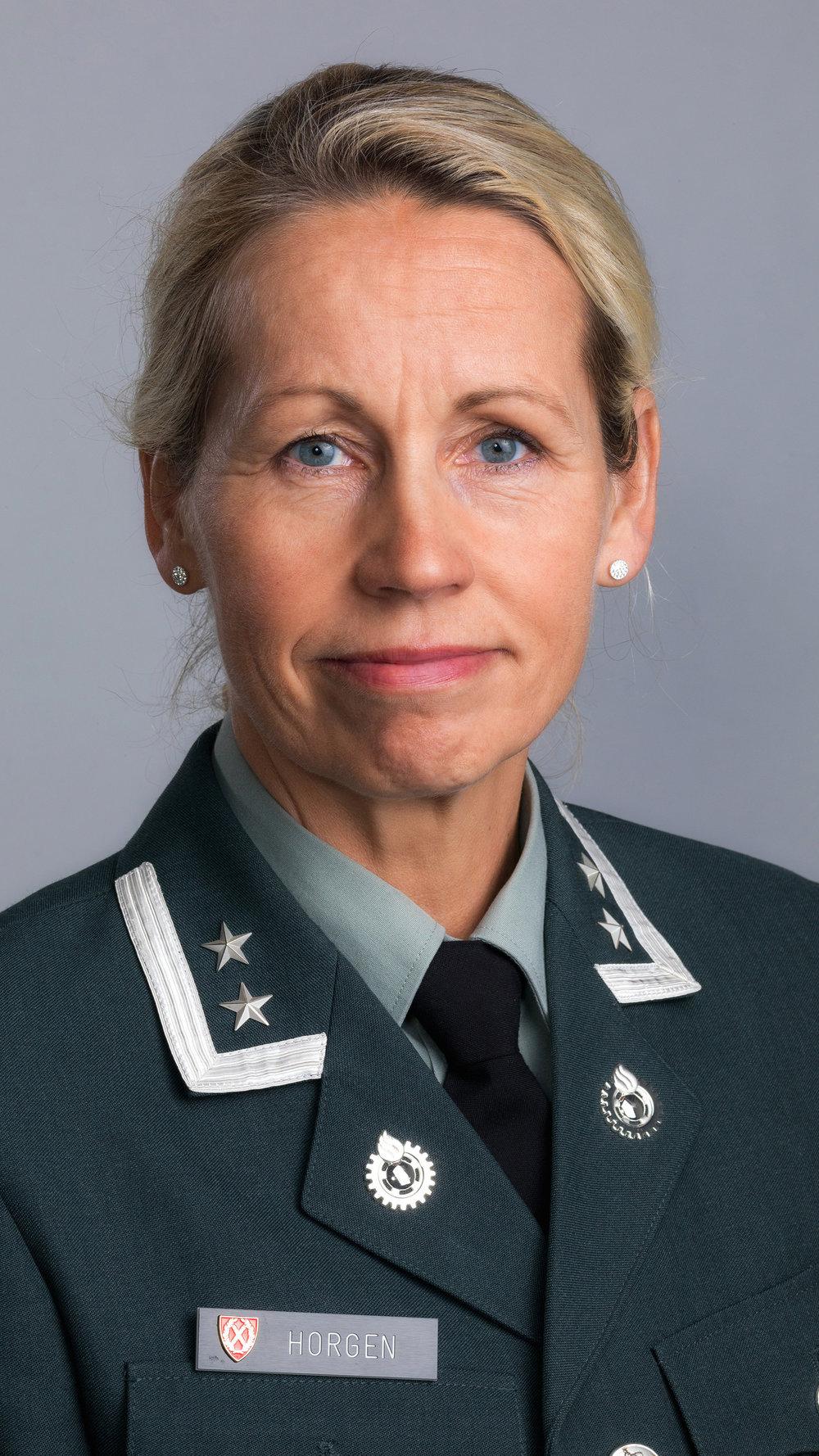Marit Horgen, oberstløytnant/lederutvikler, Forsvarets høgskole