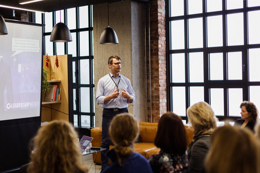 Mats Kristensen,  Leadership Weekly