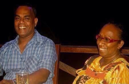 Pastor Zebedee and Rollin Tanga