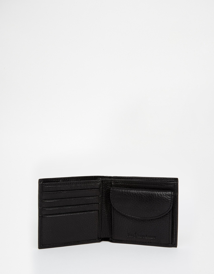 Polo Ralph Lauren Leather Billfold Wallet With Coin Pocket2.jpg