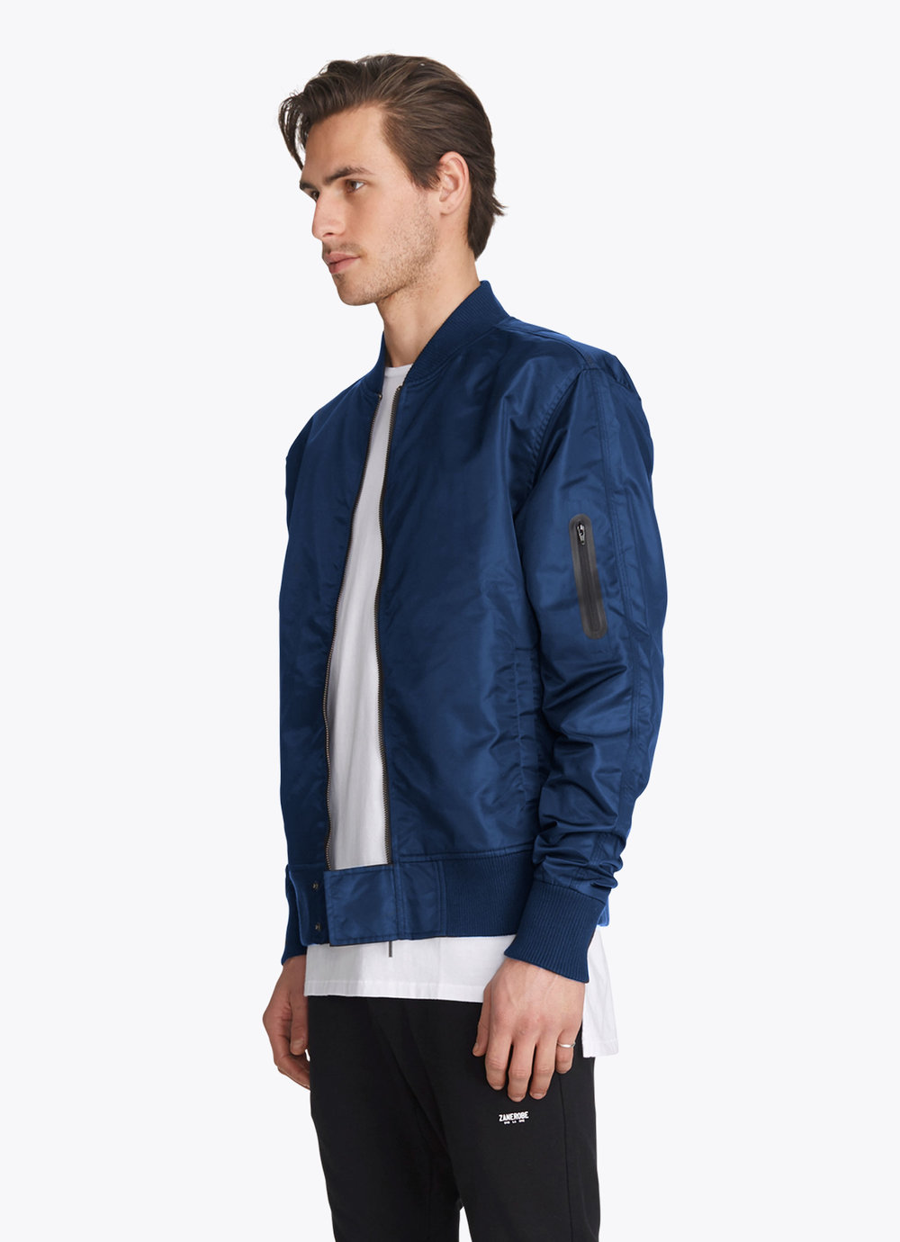 Zanerobe Bomber Jacket - Blue Steele
