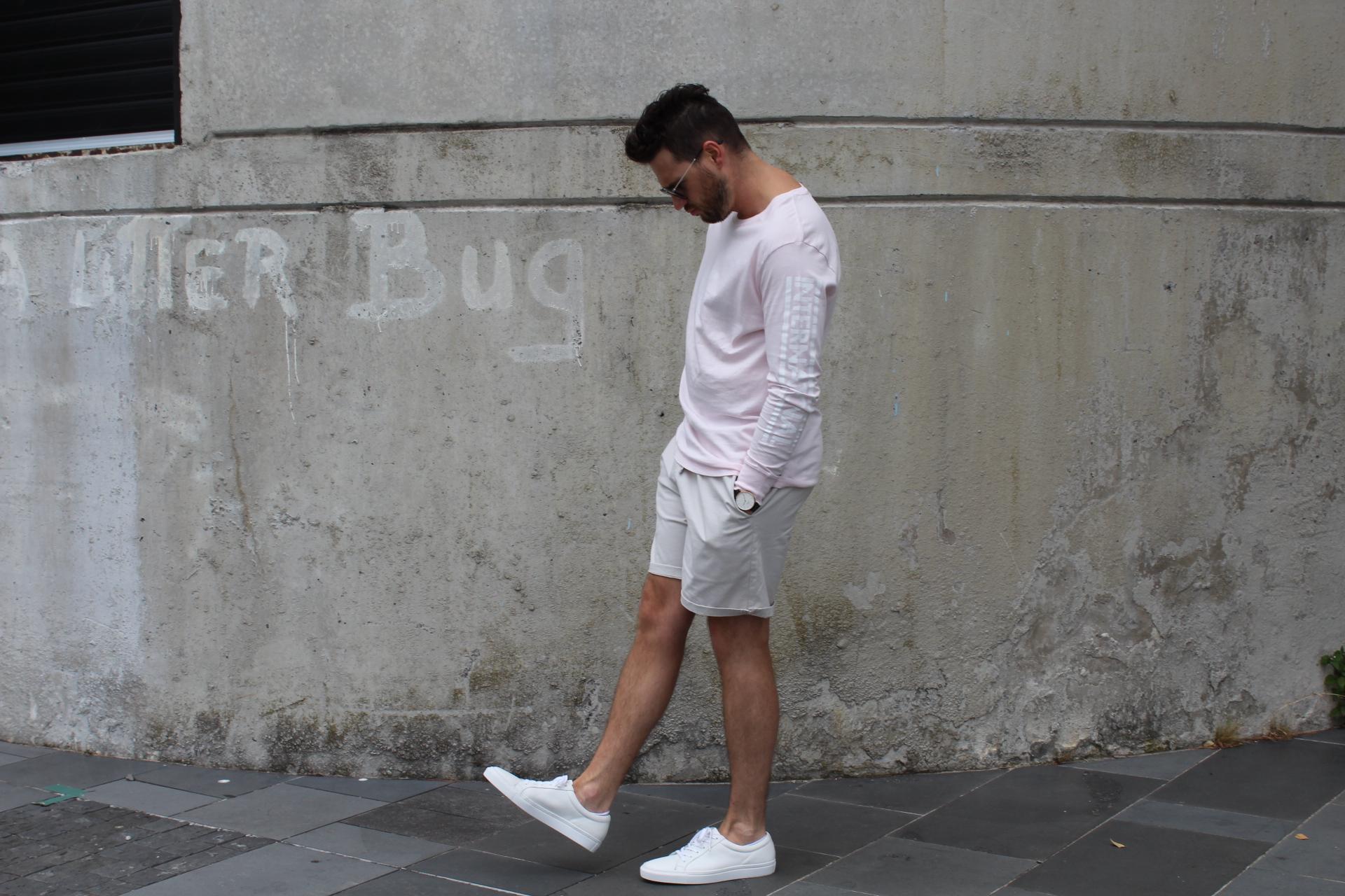 trending white sneakers