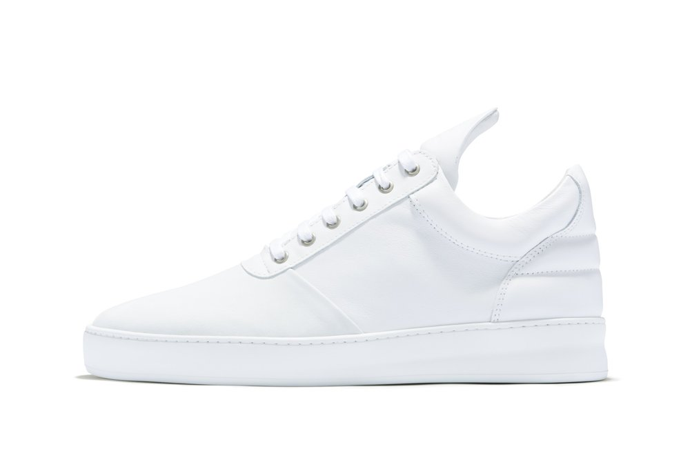 Filling Pieces Low Top Diagonal white sneakers