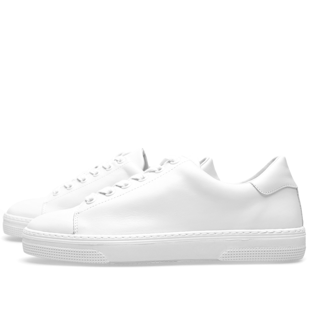 A.P.C leather tennis sneaker
