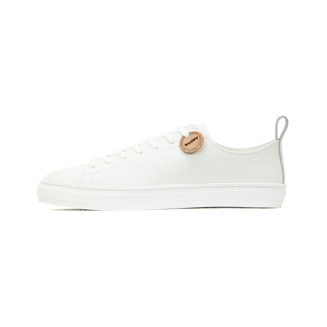 Buddy leather white sneaker