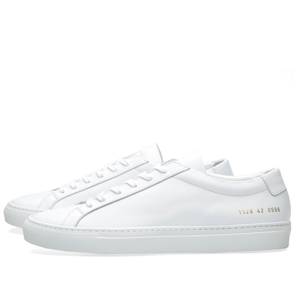 Common Projects Achilles Low leather white sneaker