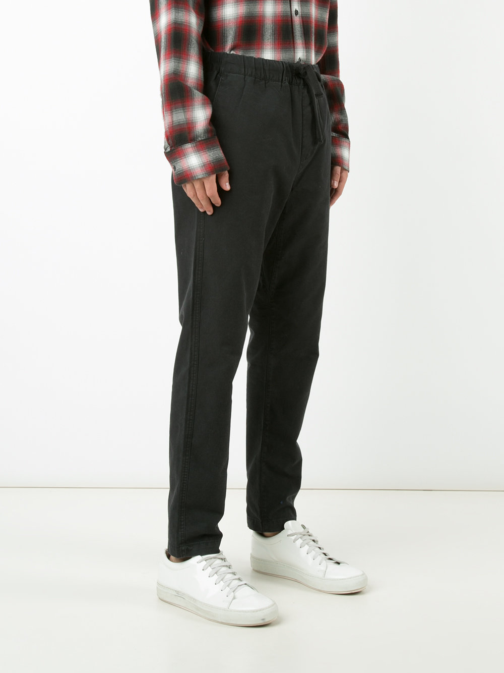 Farfetch-Obey-drawstring-trousers
