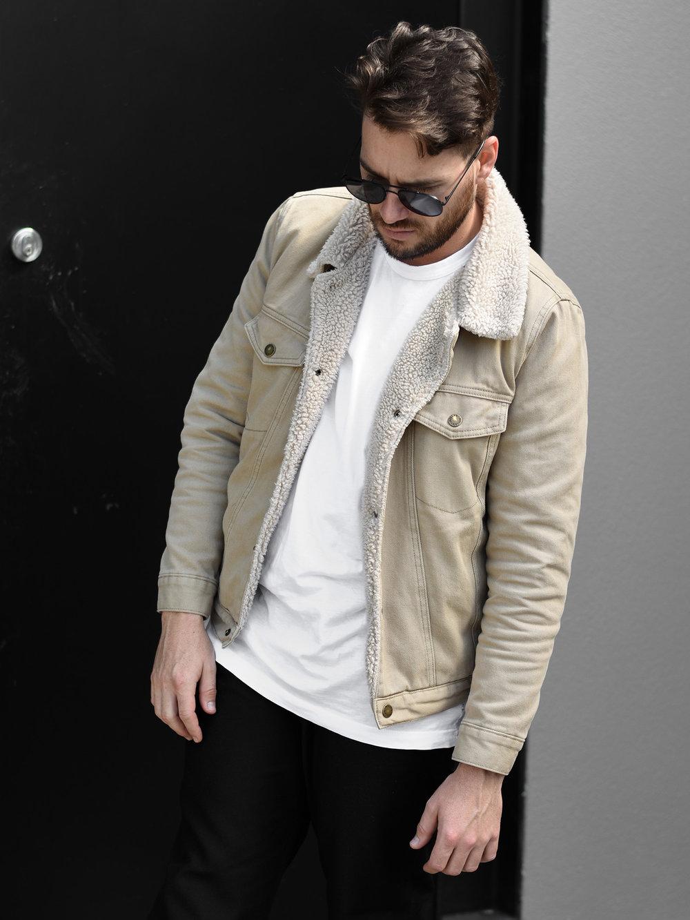 jaheb_barnett_mens_fashion_blogger_rollas_sherpa_denim_jacket_acne_studios_wool_pants_bailey_nelson