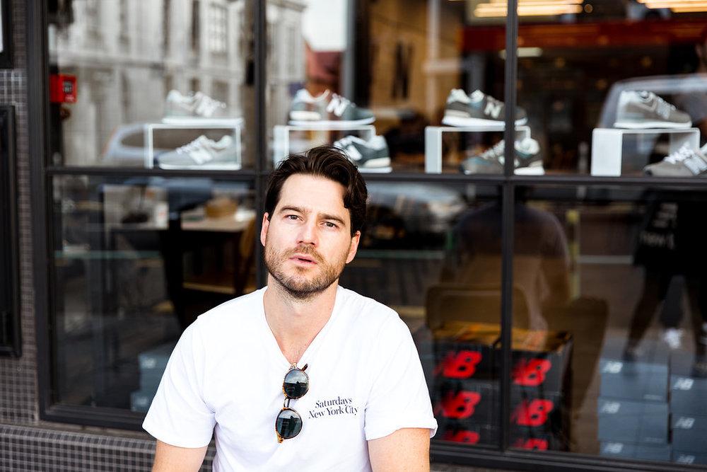 Jaheb Barnett Mens Fashion Blogger Auckland New Zealand New Balance