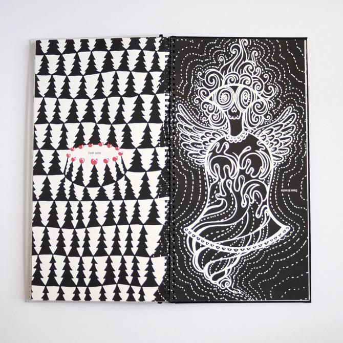 Forêt noire / Dame Blanche
