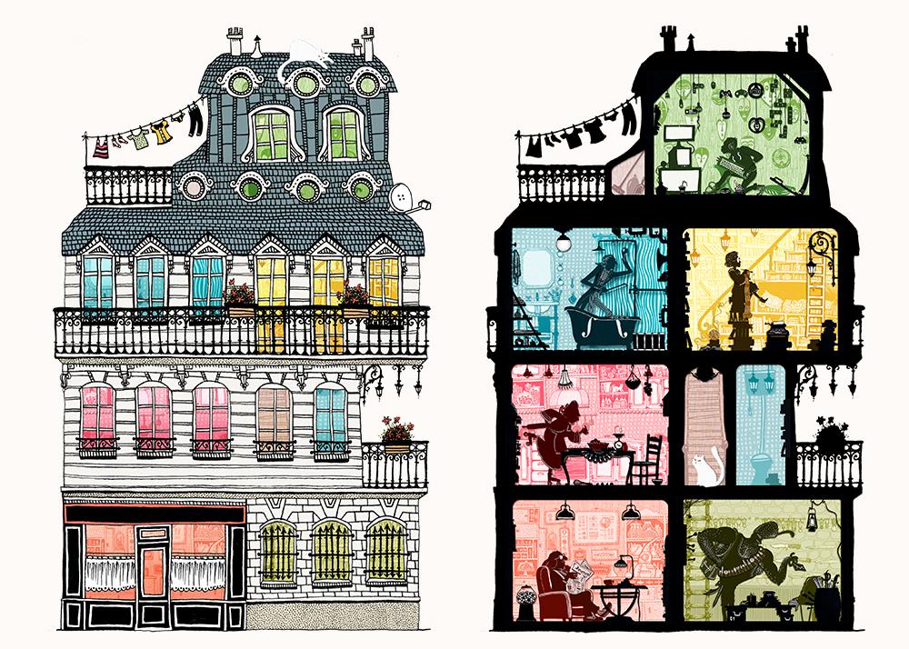 la fabrique de bonbons Le secret de Nono livre application I-pad illustration Amandine Delaunay