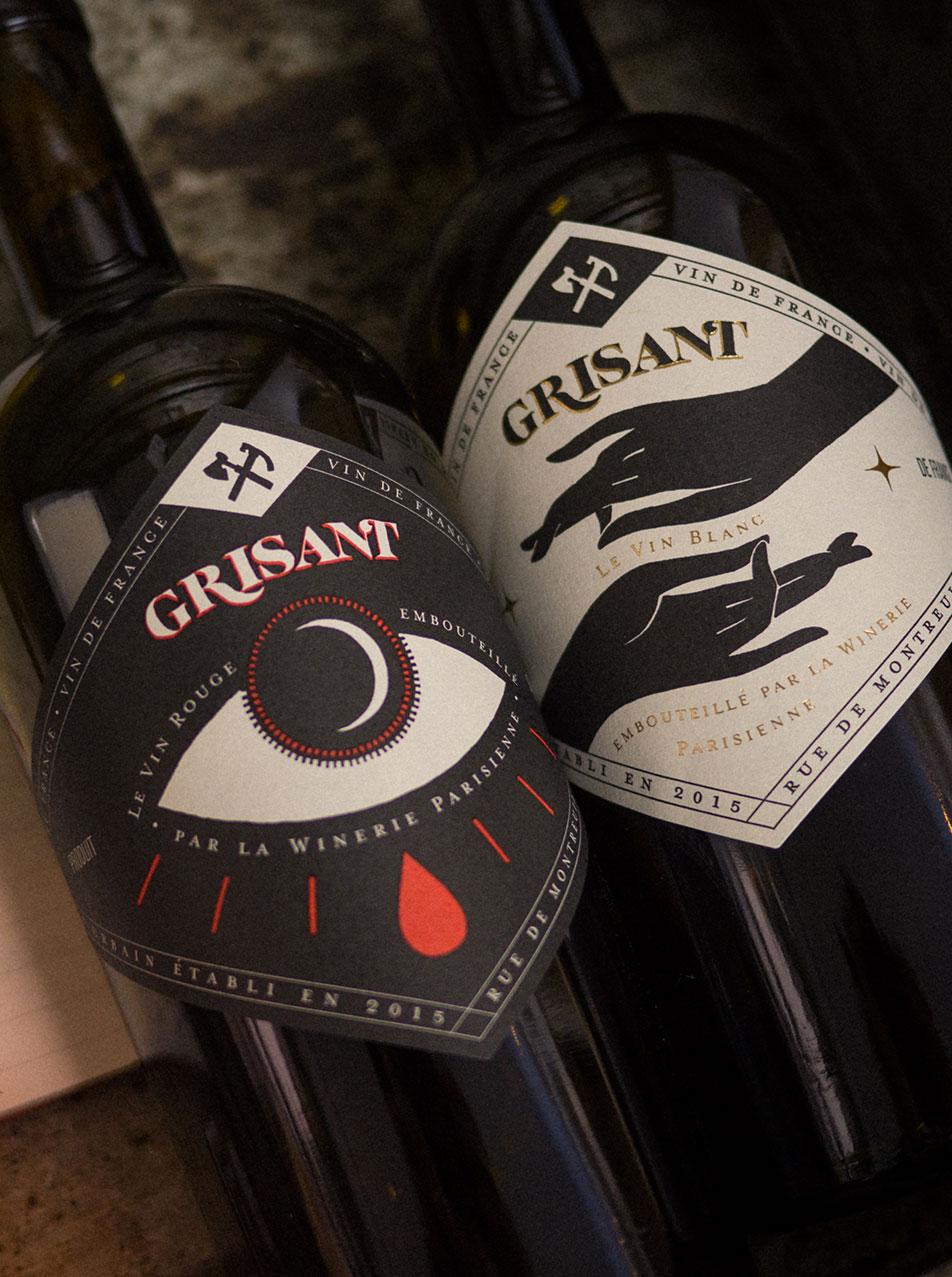 packaging winerie parisienne