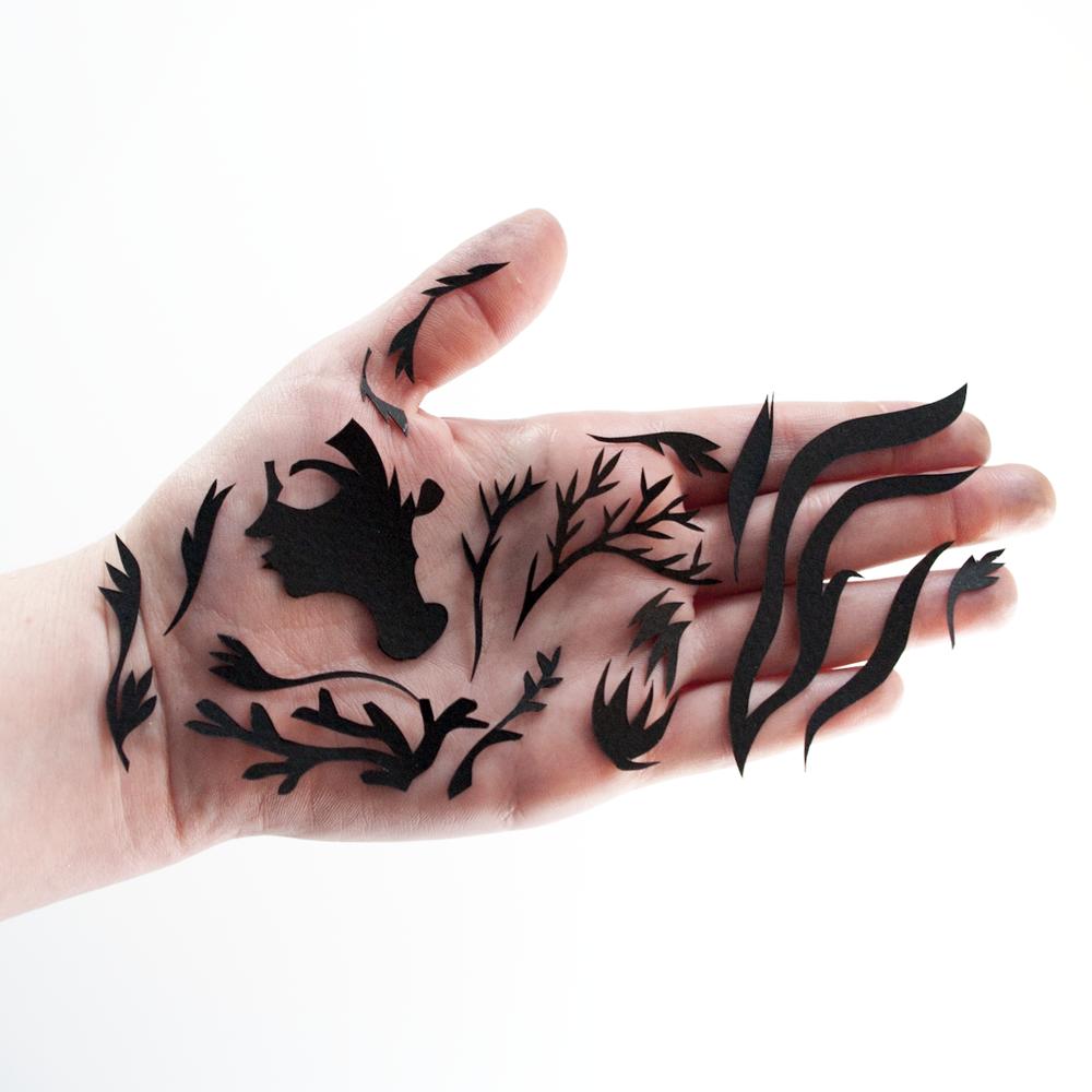 papier découpé amandine delaunay papercut illustration
