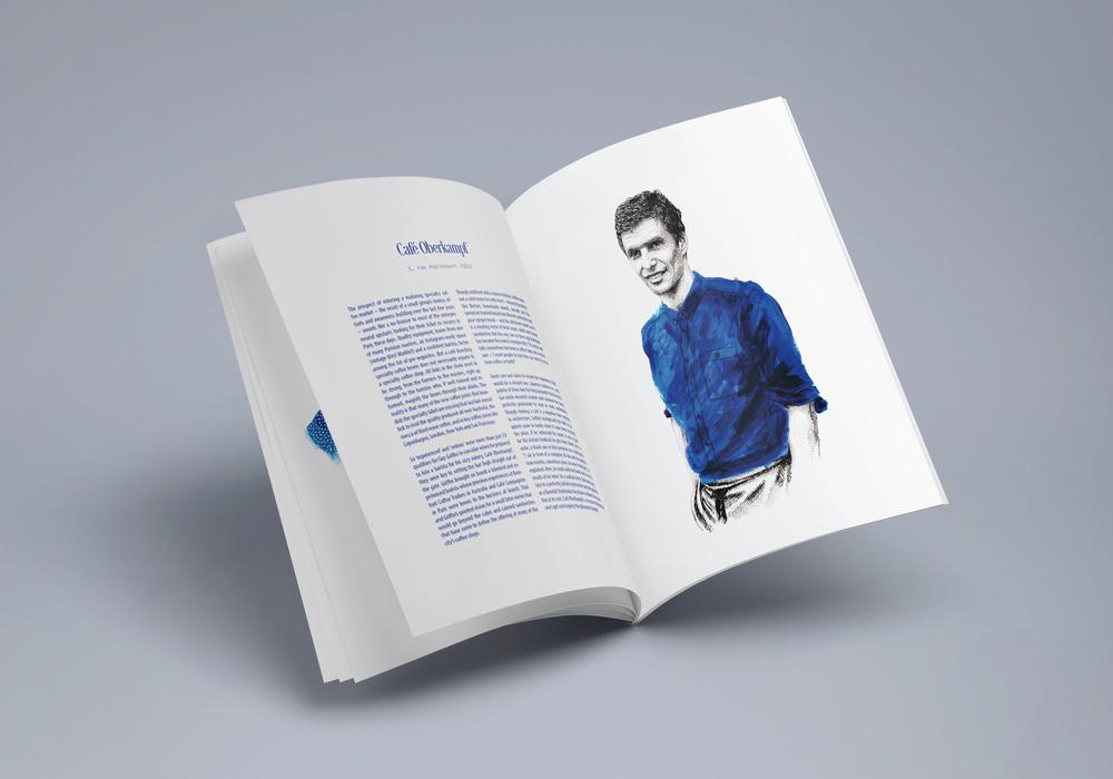 Magazine L'instant Parisien portrait Amandine Delaunay