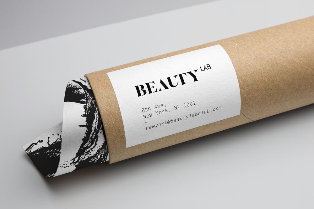 amandine delaunay claire-lise bengué direction artistique identité logo beauty lab new york manhattan
