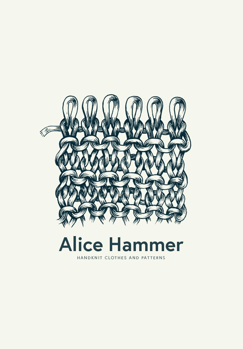 alice hammer illustration point mousse tricot amandine delaunay
