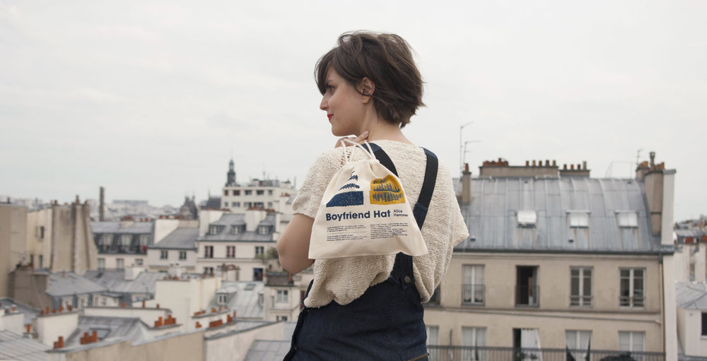 Alice Hammer shooting photo Paris Amandine Delaunay