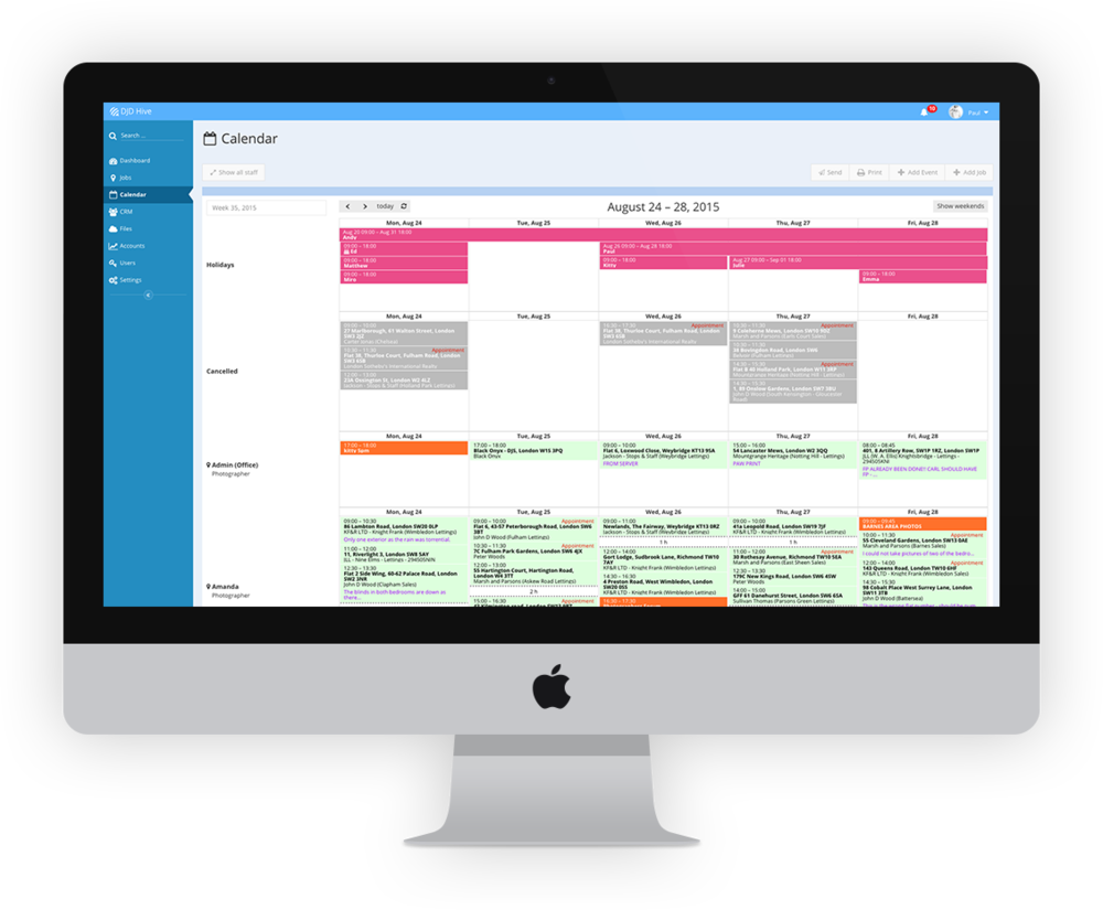 Hive CRM System