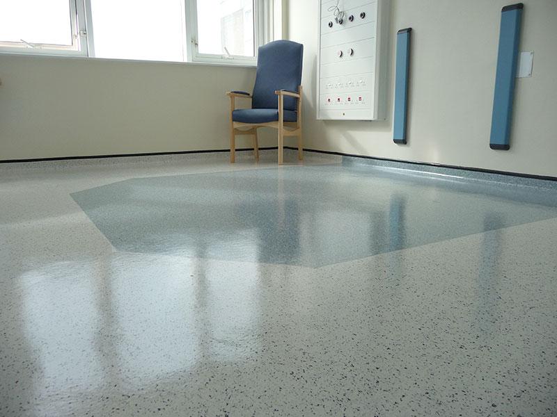Stott Flooring Hospital Bed Bay