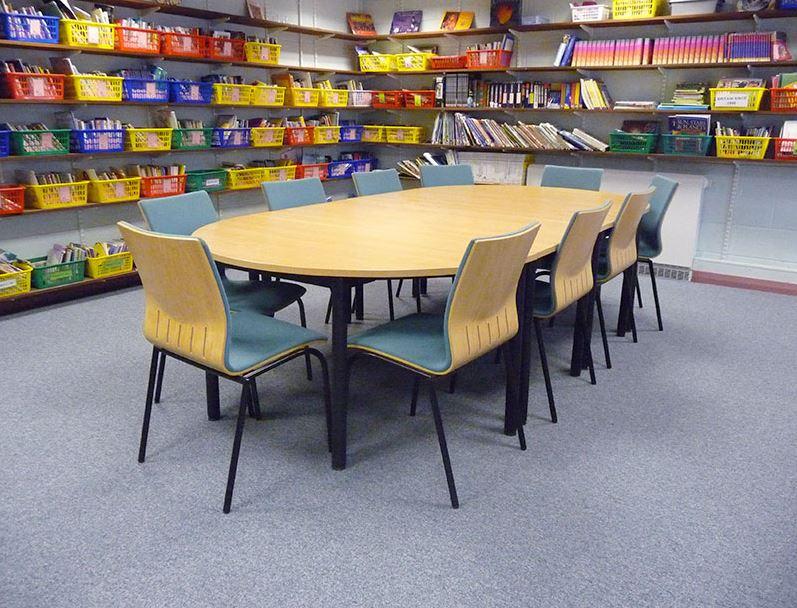 Stott Flooring School Library